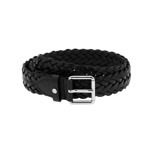 Mulberry Tessie Belt Black Natural Leather