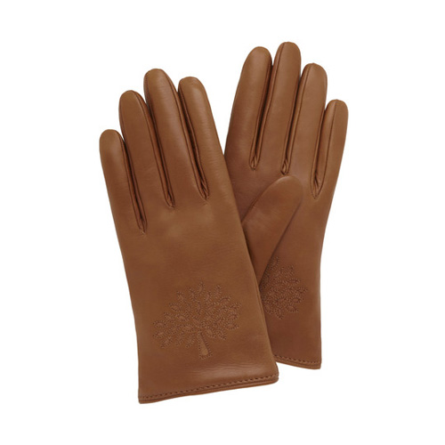 Mulberry Tree Glove Oak Nappa & Suede Mix
