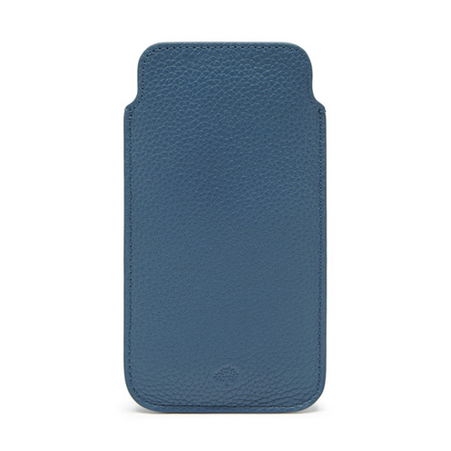 Mulberry iPhone 6 Cover Steel Blue Small Classic Grain