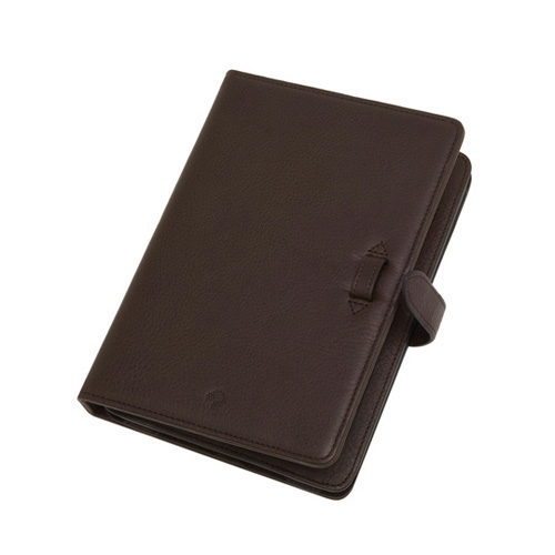 Mulberry iPad Mini Case Chocolate Natural Leather