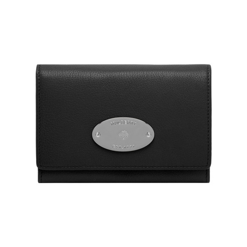 Mulberry French Purse Black Glossy Goat