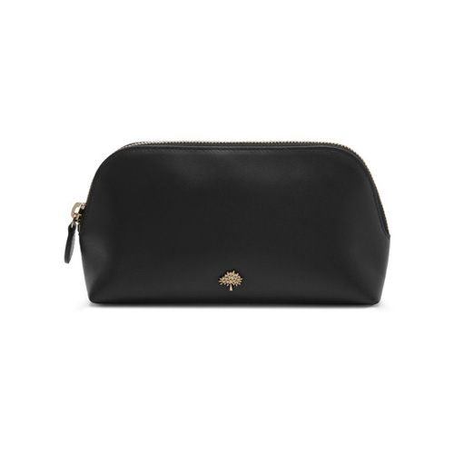 Mulberry Make Up Case Black Calf Nappa