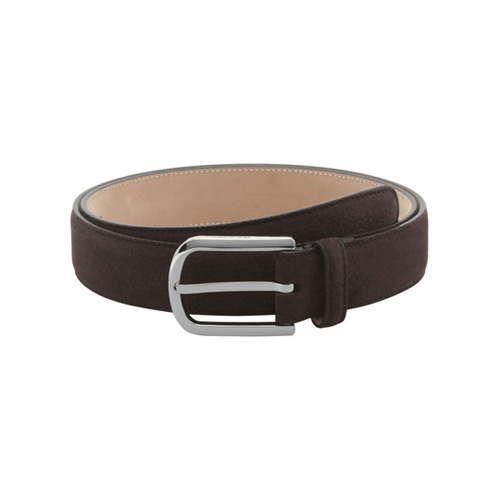 Mulberry Arched Buckle Belt Chocolate Maxi Grain Nubuck