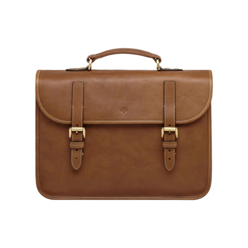 Mulberry Elkington Oak Natural Leather