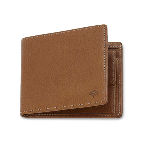 Mulberry Coin Wallet Oak Natural Leather
