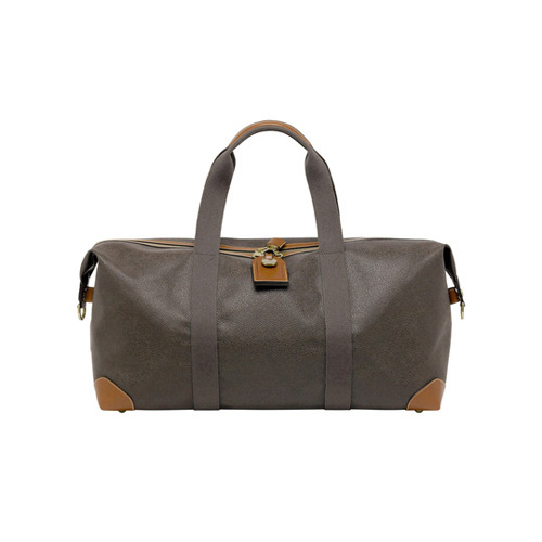 Mulberry Medium Clipper Mole Scotchgrain With Cognac Trim