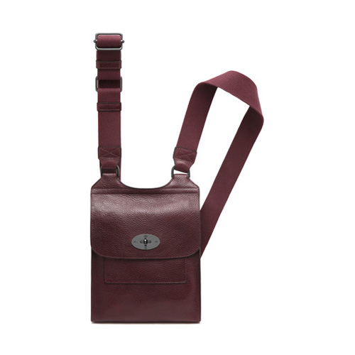 Mulberry Antony Oxblood Natural Leather
