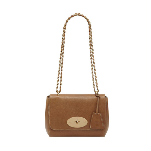 Mulberry Lily Oak Natural Leather With Soft Gold