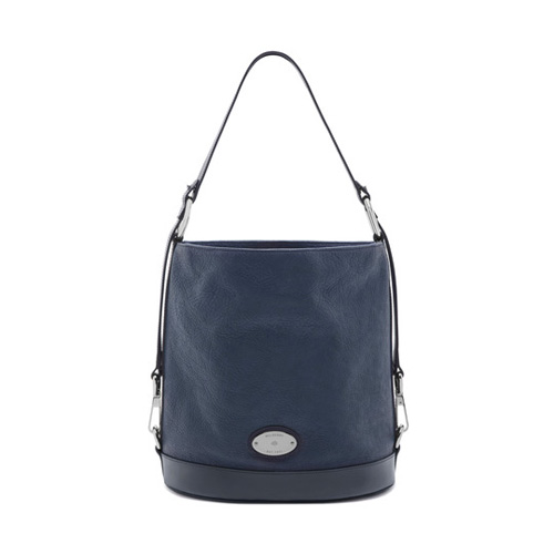 Mulberry Jamie Regal Blue & Midnight Washed Calf
