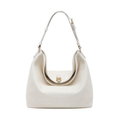 Mulberry Tessie Hobo Cream Soft Small Grain