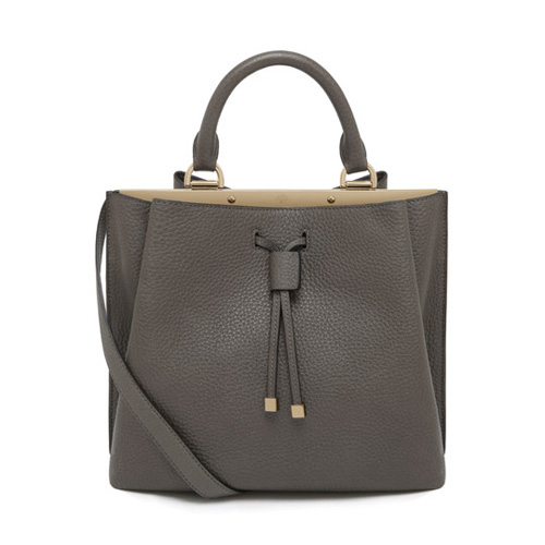 Mulberry Small Kensington Mole Grey Small Classic Grain