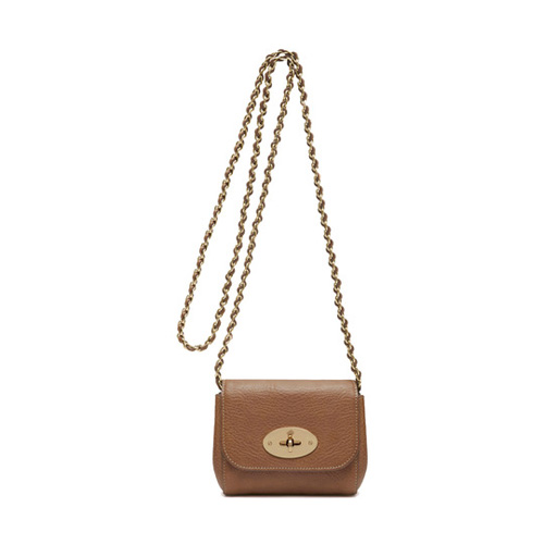 Mulberry Mini Lily Oak Natural Leather