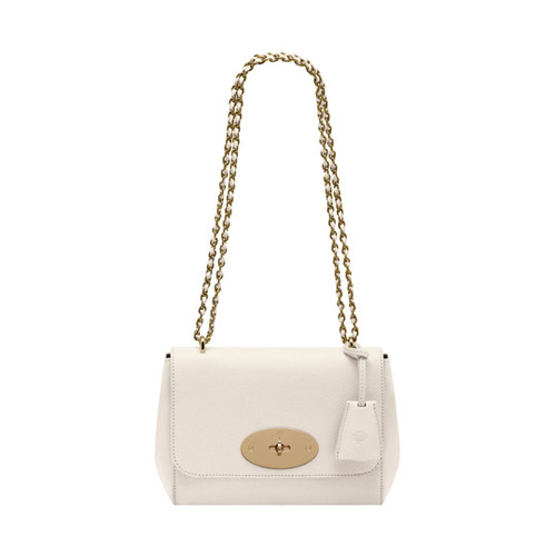 Mulberry Lily Cream Glossy Goat