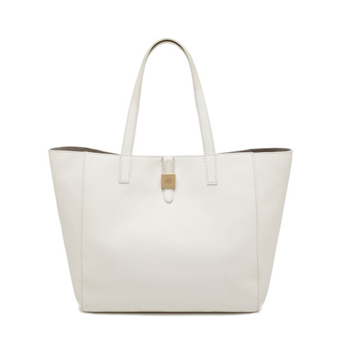 Mulberry Tessie Tote Cream Soft Small Grain