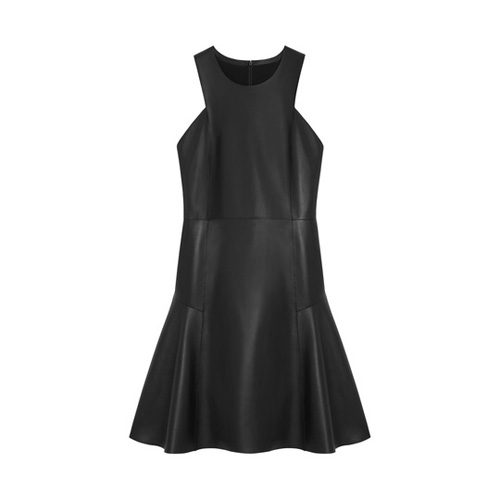 Mulberry Primrose Dress Black Nappa Leather
