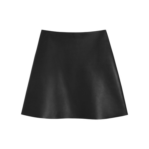 Mulberry Bluebell Skirt Black Nappa Leather