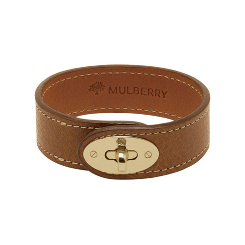 Mulberry Bayswater Bracelet Oak Natural Leather