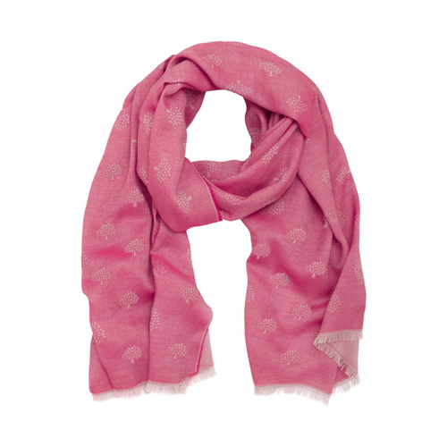 Mulberry Tamara Scarf Pink Cotton