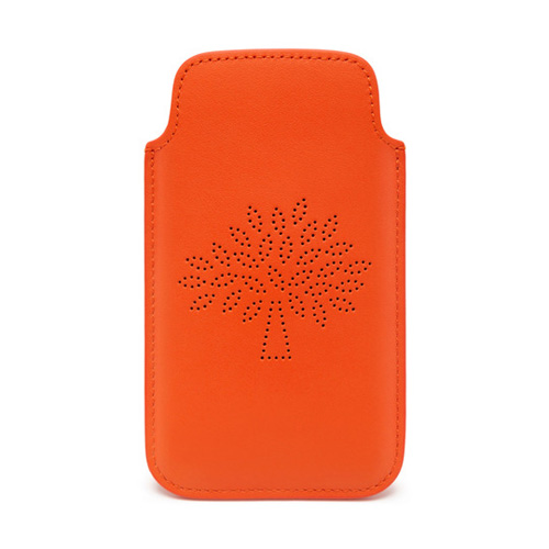 Mulberry Blossom iPhone 6 Cover Mandarin Calf Nappa