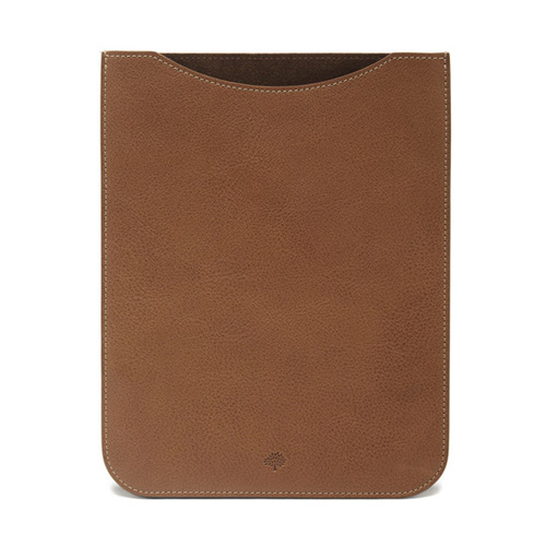Mulberry iPad Air Sleeve Oak Natural Leather