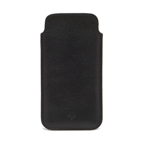 Mulberry iPhone 6 Cover Black Natural Leather