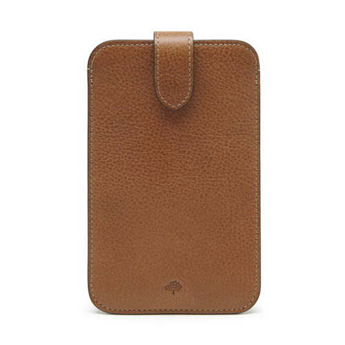 Mulberry Smartphone Cover Oak Natural Leather