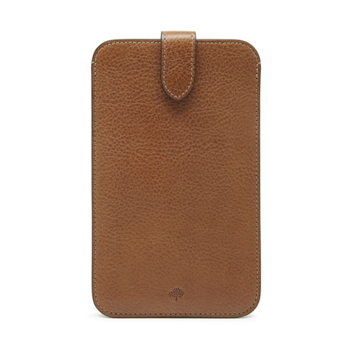 Mulberry Large Smartphone Cover Oak Natural Leather