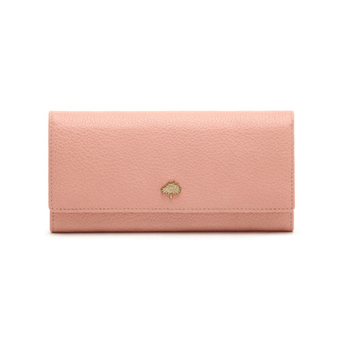 Mulberry Tree Continental Wallet Rose Petal Small Classic Grain
