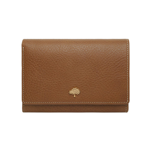 Mulberry Tree French Purse Oak Natural Leather