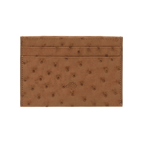 Mulberry Credit Card Slip Oak Ostrich