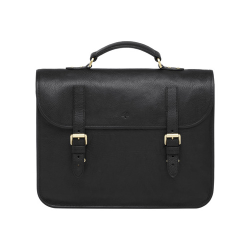 Mulberry Elkington Black Natural Leather