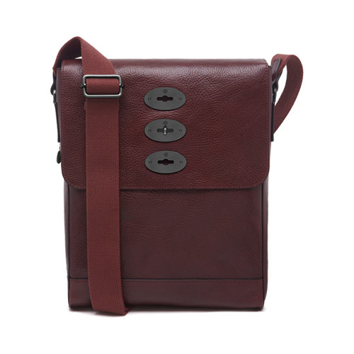 Mulberry Slim Brynmore Oxblood Natural Leather