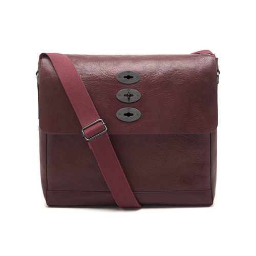 Mulberry Brynmore Oxblood Natural Leather