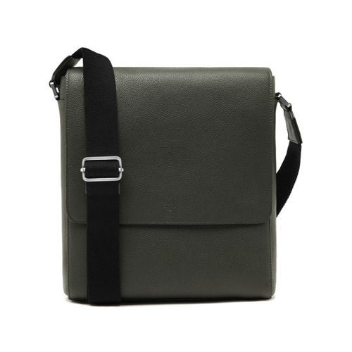 Mulberry Maxwell Slim Messenger Flint Grey Small Classic Grain
