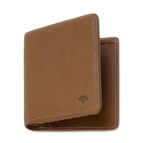 607af2c93dc Factory Mulberry 8 Card Coin Wallet Chocolate Natural Leather Outlet ...