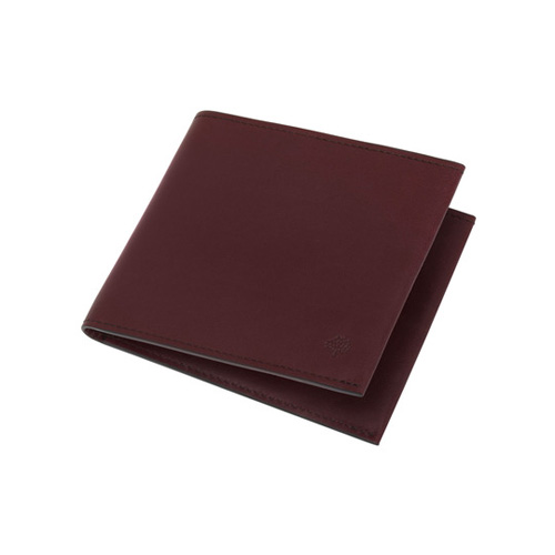 Mulberry Somerton 8 Card Wallet Oxblood Smooth Saddle