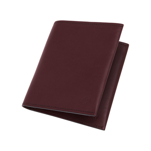 Mulberry Somerton 6 Card Wallet Oxblood Smooth Saddle
