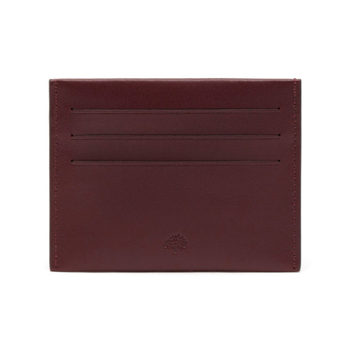 Mulberry Somerton Credit Card Slip Oxblood Smooth Saddle