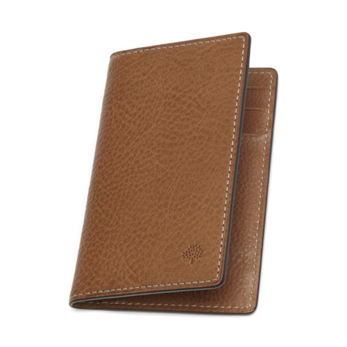 Mulberry Card Wallet Oak Natural Leather