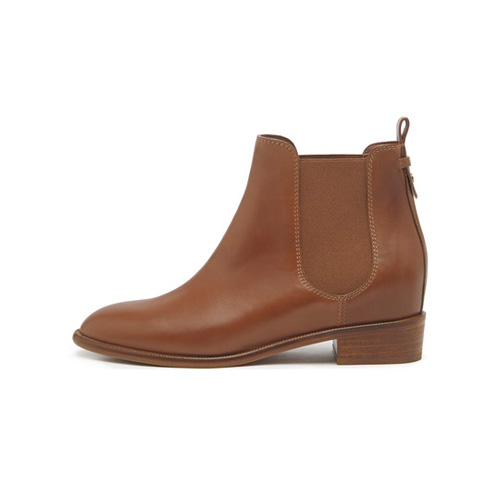 Mulberry Maggie Chelsea Boot Oak Burnished Leather