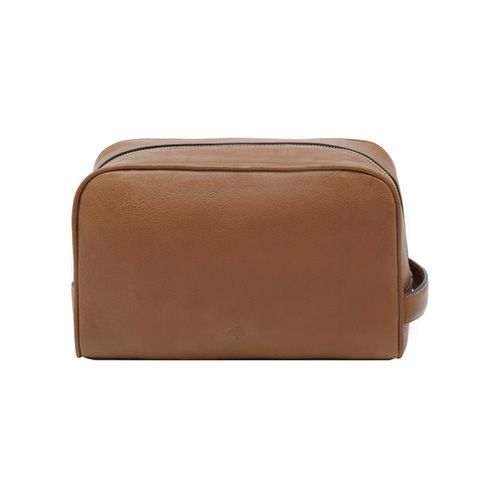 Mulberry Wash Case Oak Natural Leather