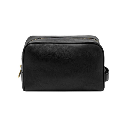 Mulberry Wash Case Black Natural Leather