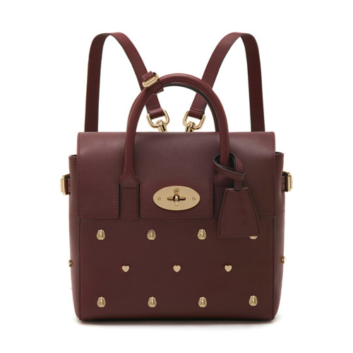 Mulberry Mini Cara Delevingne Bag Oxblood Silky Classic Calf$2,400