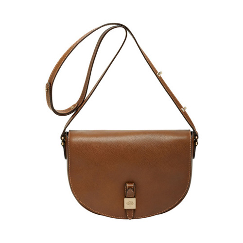 Mulberry Tessie Satchel Oak Soft Small Grain