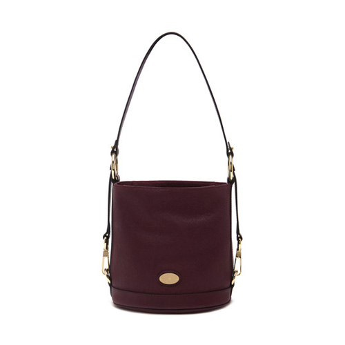 Mulberry Small Jamie Oxblood Washed Calf