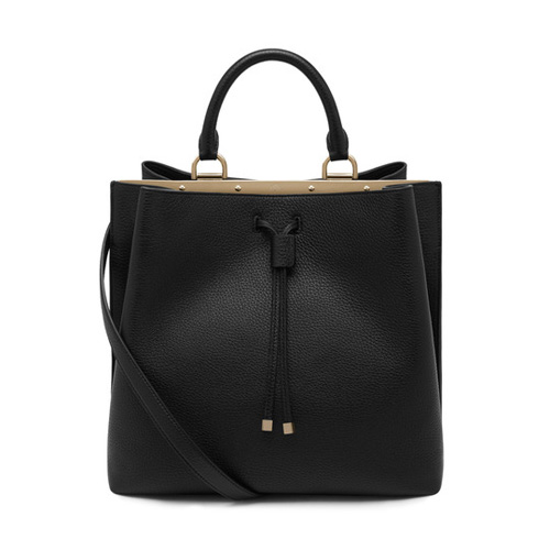 Mulberry Kensington Black Small Classic Grain