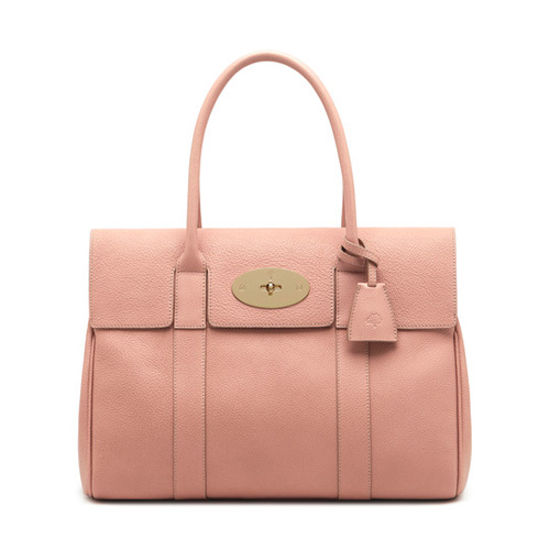 Mulberry Bayswater Rose Petal Small Classic Grain