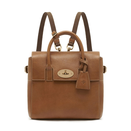 Mulberry Mini Cara Delevingne Bag Oak Natural Leather