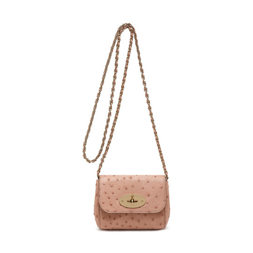 Mulberry Mini Lily Rose Petal Ostrich