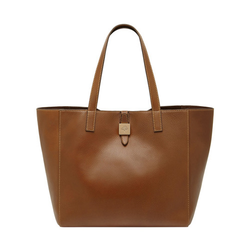 Mulberry Tessie Tote Oak Soft Small Grain
